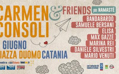 Carmen Consoli in concerto a Catania